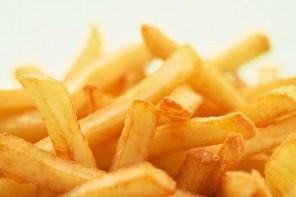 Trans fat in French fries