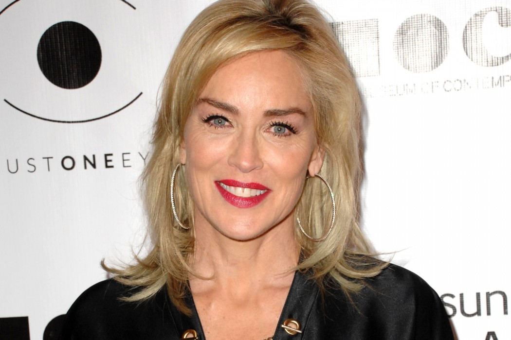 sharon stone beauty secrets