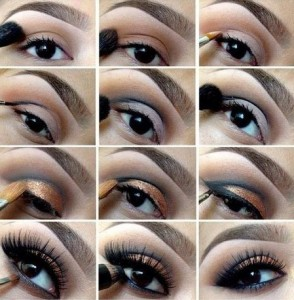 Applying-eye-shadow