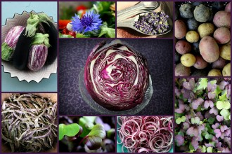 purple color food