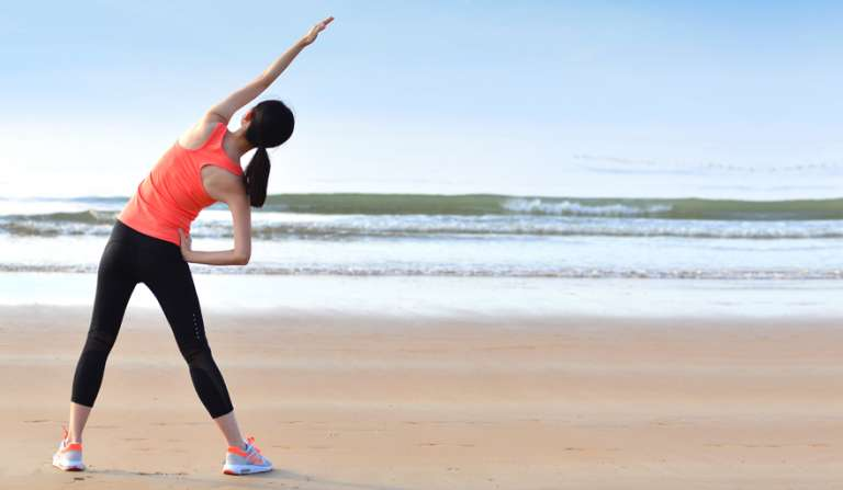 Workout for beach