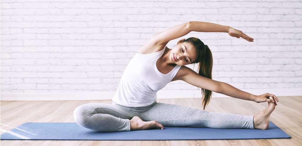 Do stretch exercise